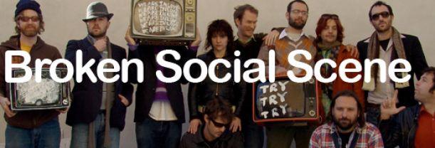 Billet Broken Social Scene