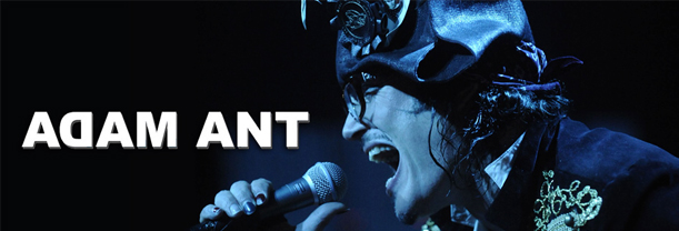Buy your Adam Ant tickets
