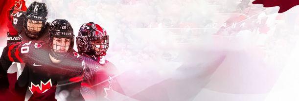 Billet Hockey Féminin - Équipe Canada
