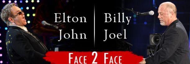 Billet Elton John & Billy Joel