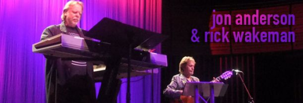 Buy your Jon Anderson et Rick Wakeman tickets