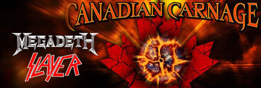 Buy your Megadeth et Slayer tickets