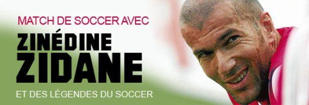 Billet Zidane et ses amis