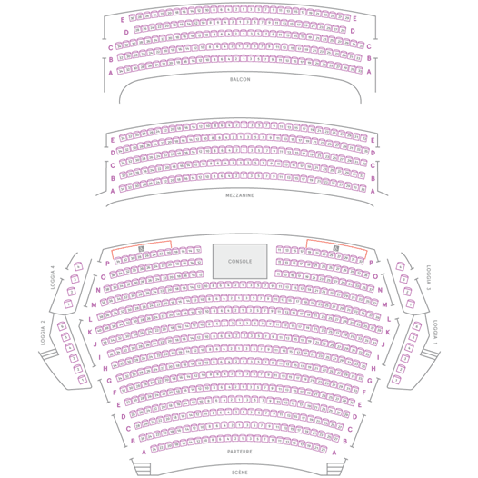Theatre Maisonneuve Montreal Seating Chart Seating Chart