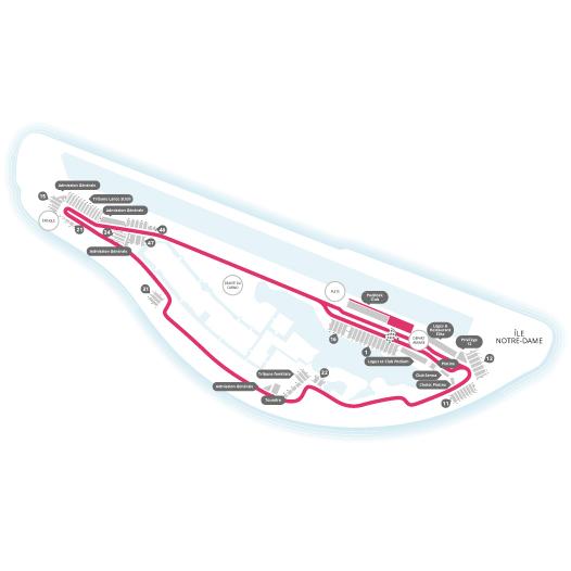 Circuit Gilles Villeneuve View Seating Chart